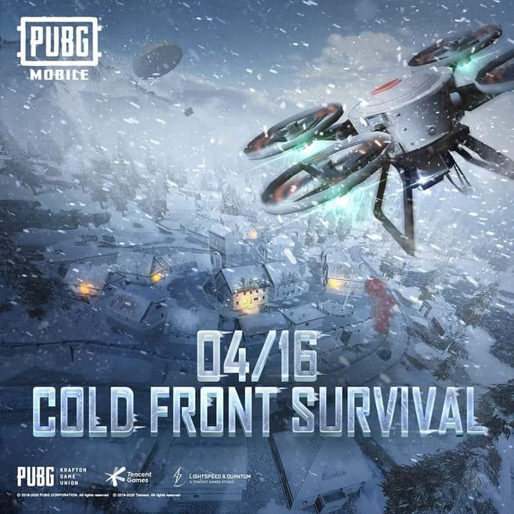 PUBG Mobile Cold Front Survival Mode