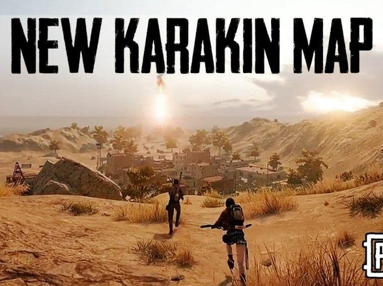 PUBG Mobile Karakin Map