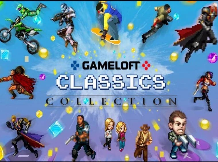 Gameloft Classics: 20 Years Comes With Over 30 Classic Titles #Gameloft