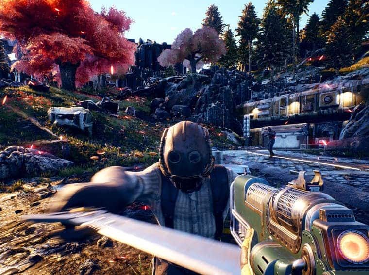 The Outer Worlds on Nintendo Switch