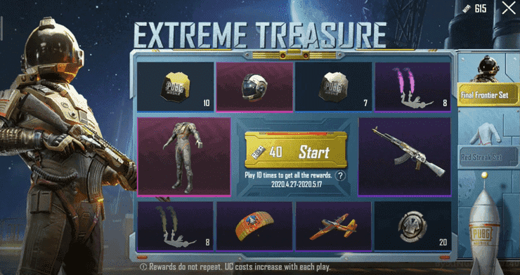 PUBG Mobile Extreme Treasure