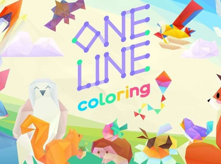 One Line Coloring Nintendo Switch