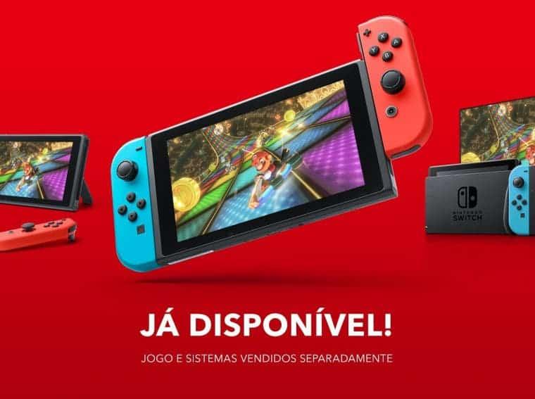 Nintendo Switch Brazil
