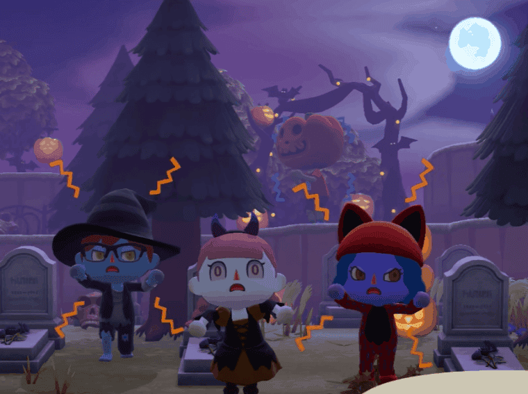 Animal Crossing: New Horizons fall update