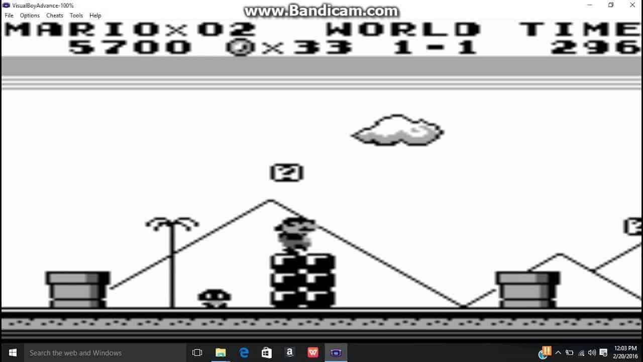 Super Mario Land gameplay