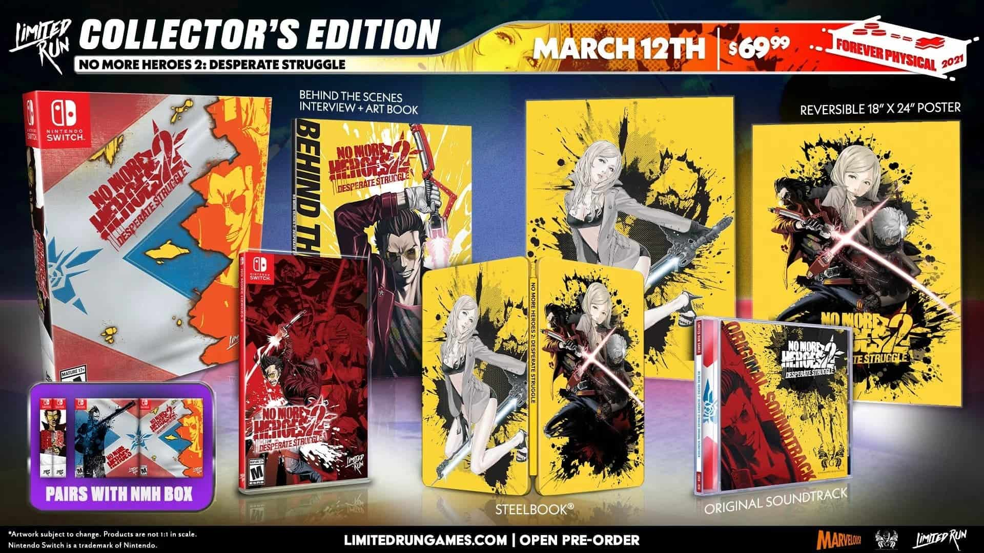 No More Heroes 2 Collector's Edition