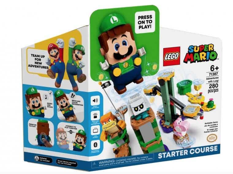 LEGO Luigi Starter Pack