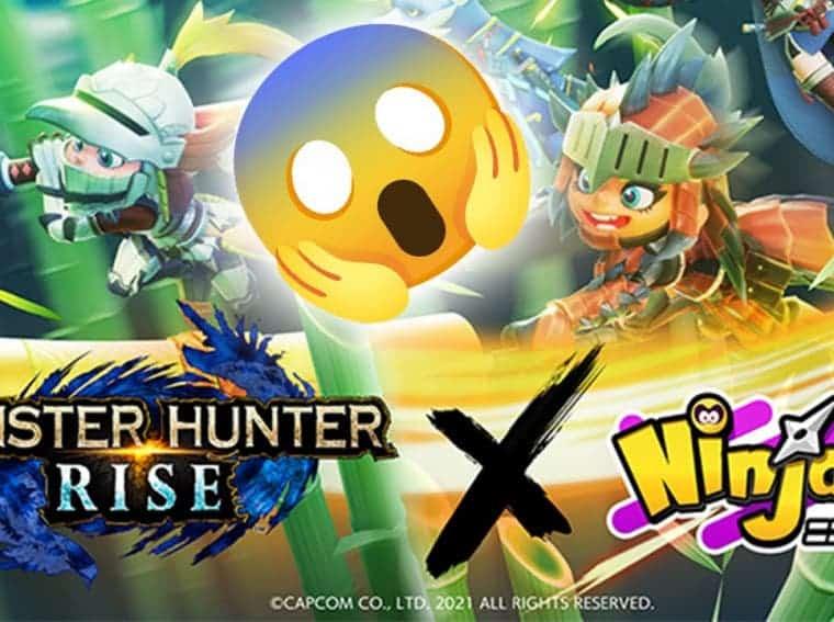 Ninjala x Monster Hunter Rise