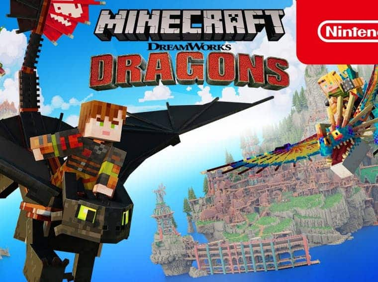 Minecraft How to Train Your Dragon DLC