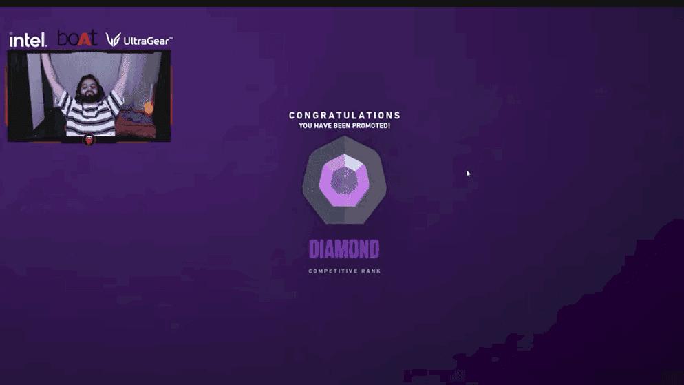 Valorant Rakazone gaming iron to diamond