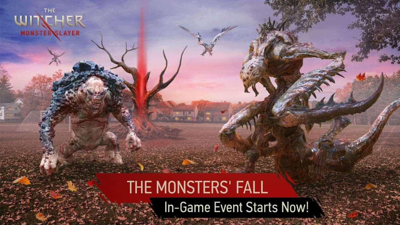 The Witcher: Monster Slayer gets a new Monsters' Fall event
